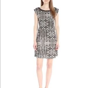 Threads 4 Thought Black Graphic Corina Print Dress